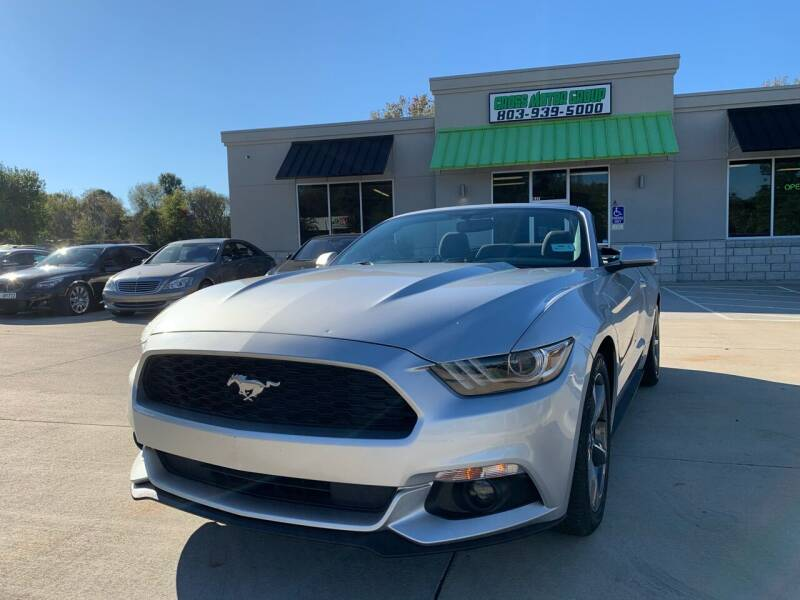 2016 Ford Mustang for sale at Cross Motor Group in Rock Hill SC