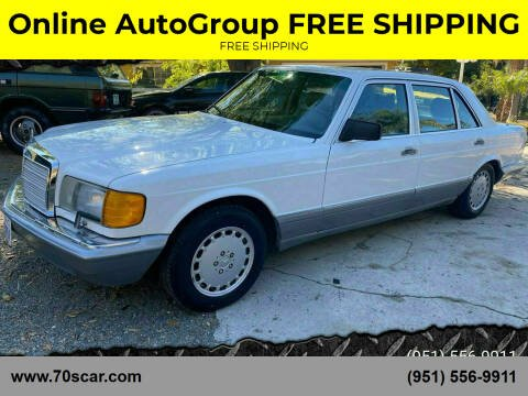 1987 Mercedes-Benz 300-Class for sale at Online AutoGroup FREE SHIPPING in Riverside CA