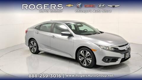 2016 Honda Civic for sale at ROGERS  AUTO  GROUP in Chicago IL