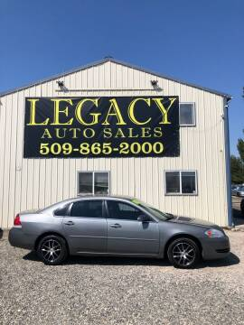 2008 Chevrolet Impala for sale at Legacy Auto Sales in Toppenish WA
