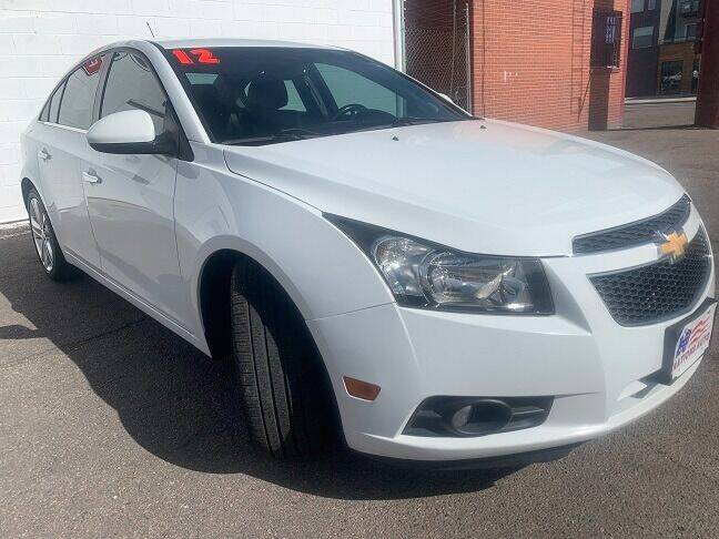 2012 Chevrolet Cruze for sale at Nations Auto in Lakewood CO
