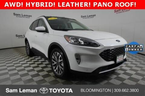 2020 Ford Escape Hybrid for sale at Sam Leman Toyota Bloomington in Bloomington IL