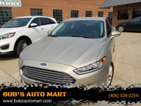 2016 Ford Fusion for sale at BOB'S AUTO MART in Lewistown MT
