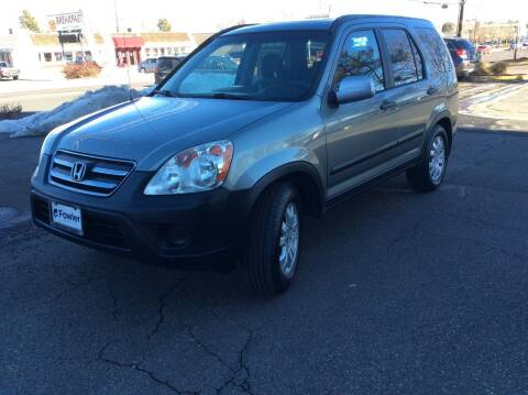 2006 Honda CR-V for sale at AROUND THE WORLD AUTO SALES in Denver CO