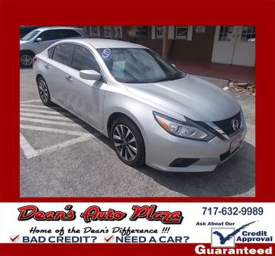 2017 Nissan Altima for sale at Dean's Auto Plaza in Hanover PA