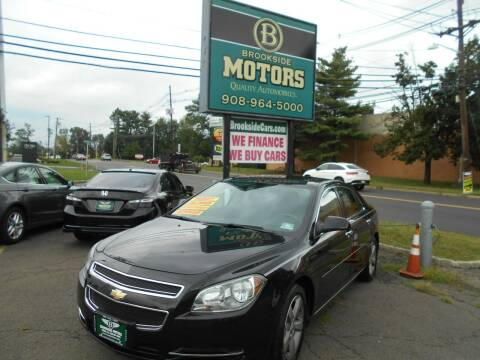 2012 Chevrolet Malibu for sale at Brookside Motors in Union NJ