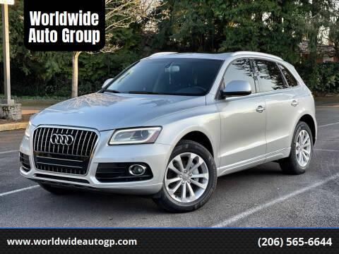 2013 Audi Q5 for sale at Worldwide Auto Group in Auburn WA
