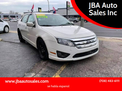 2011 Ford Fusion for sale at JBA Auto Sales Inc in Stone Park IL