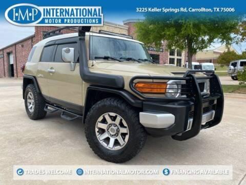 2014 Toyota FJ Cruiser for sale at International Motor Productions in Carrollton TX