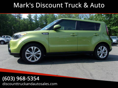 2016 Kia Soul for sale at Mark's Discount Truck & Auto in Londonderry NH