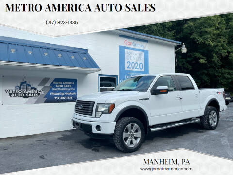 2011 Ford F-150 for sale at METRO AMERICA AUTO SALES of Manheim in Manheim PA