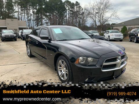 2014 Dodge Charger for sale at Smithfield Auto Center LLC in Smithfield NC