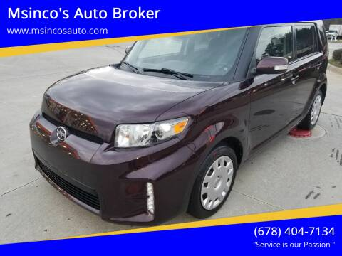 2015 Scion xB for sale at Msinco's Auto Broker in Snellville GA