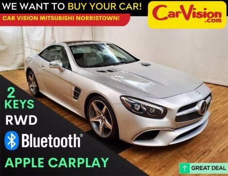 2017 Mercedes-Benz SL-Class for sale at Car Vision Mitsubishi Norristown in Trooper PA