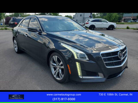 2014 Cadillac CTS for sale at Carmel Auto Group in Indianapolis IN