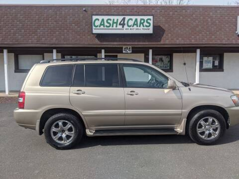 2005 Toyota Highlander for sale at Cash 4 Cars in Penndel PA