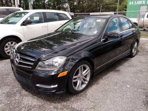 2014 Mercedes-Benz C-Class for sale at Nation Autos Miami in Hialeah FL