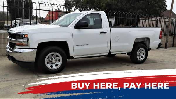 2016 Chevrolet SILVERAO 1500 for sale at DOYONDA AUTO SALES in Pomona CA