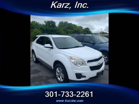 2010 Chevrolet Equinox for sale at Karz INC in Funkstown MD