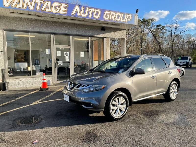 2014 Nissan Murano for sale at Vantage Auto Group in Brick NJ