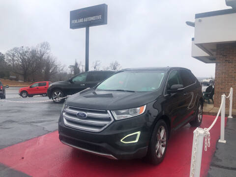 2015 Ford Edge for sale at Penland Automotive Group in Taylors SC