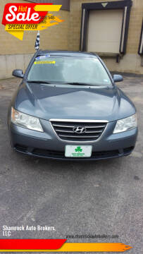 2009 Hyundai Sonata for sale at Shamrock Auto Brokers, LLC in Belmont NH