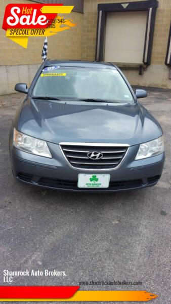 2009 Hyundai Sonata for sale at Shamrock Auto Brokers, LLC in Belmont NH