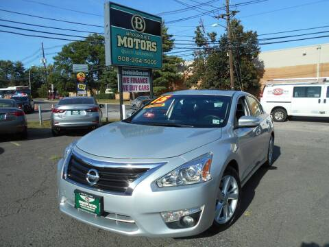 2015 Nissan Altima for sale at Brookside Motors in Union NJ