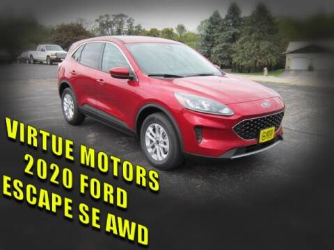 2020 Ford Escape for sale at Virtue Motors in Darlington WI