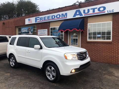 2013 Honda Pilot for sale at FREEDOM AUTO LLC in Wilkesboro NC