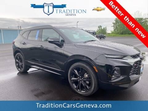 2020 Chevrolet Blazer for sale at Tradition Chevrolet Buick in Geneva NY