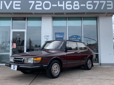 1984 Saab 900 for sale at Shift Automotive in Denver CO