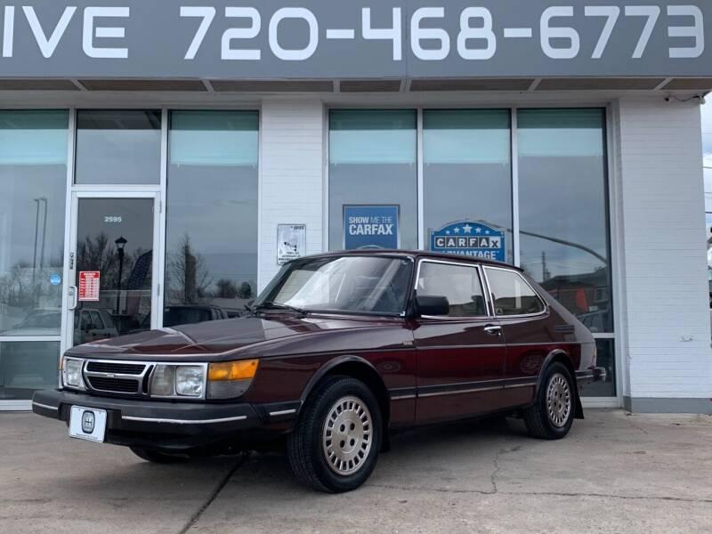 1984 Saab 900 for sale at Shift Automotive in Denver CO