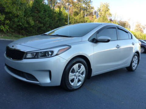 2018 Kia Forte for sale at RUSTY WALLACE KIA OF KNOXVILLE in Knoxville TN