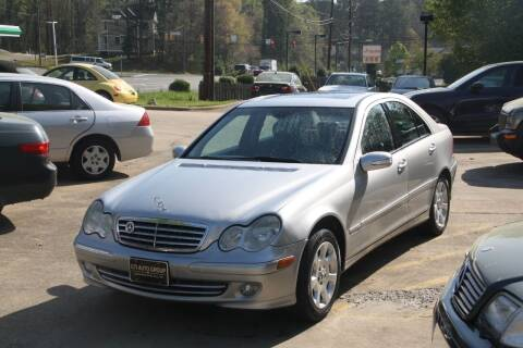 2005 Mercedes-Benz C-Class for sale at GTI Auto Exchange in Durham NC