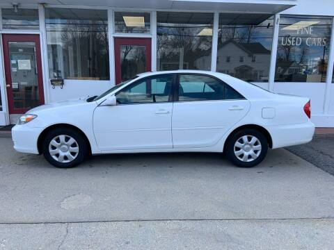 2003 Toyota Camry for sale at O'Connell Motors in Framingham MA