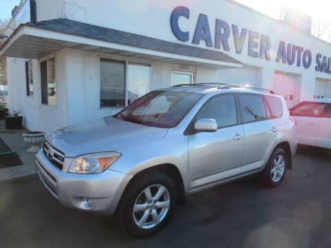 2008 Toyota RAV4 for sale at Carver Auto Sales in Saint Paul MN