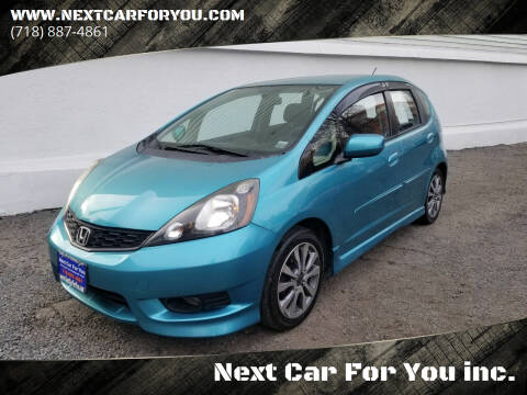 2012 Honda Fit for sale at Next Car For You inc. in Brooklyn NY