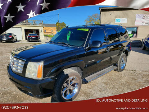 2005 Cadillac Escalade for sale at JDL Automotive and Detailing in Plymouth WI