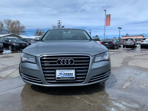 2011 Audi A8 L for sale at Global Automotive Imports of Denver in Denver CO