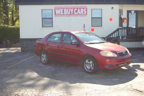 2005 Toyota Corolla for sale at Park Ave Auto Inc. in Worcester MA