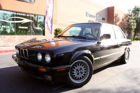 1990 BMW 3 Series for sale at CK Motors in Murrieta CA