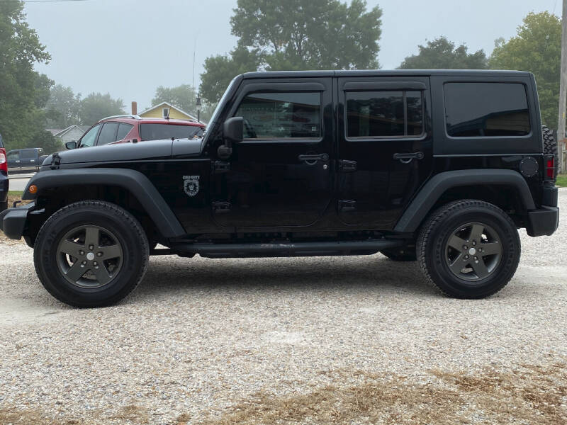 2011 Jeep Wrangler Unlimited for sale at J2 WHEELS UNLIMITED in Griggsville IL