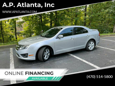 2012 Ford Fusion for sale at A.P. Atlanta, Inc in Sandy Springs GA