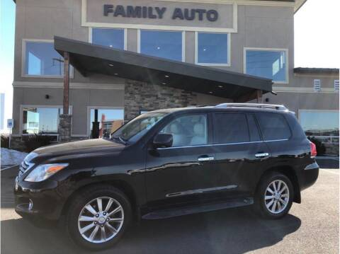 2009 Lexus LX 570 for sale at Moses Lake Family Auto Center in Moses Lake WA