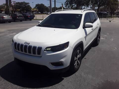 2020 Jeep Cherokee for sale at YOUR BEST DRIVE in Oakland Park FL