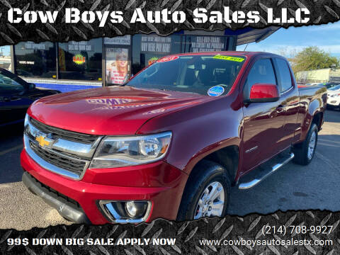 2018 Chevrolet Colorado for sale at Cow Boys Auto Sales LLC in Garland TX