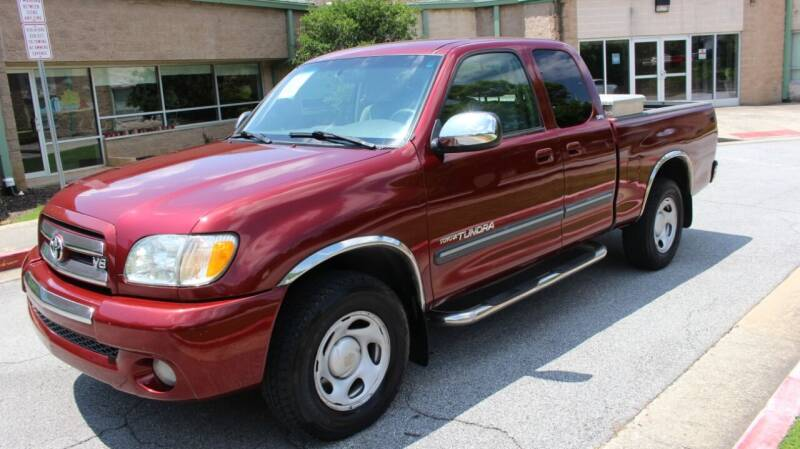 2003 Toyota Tundra for sale at NORCROSS MOTORSPORTS in Norcross GA