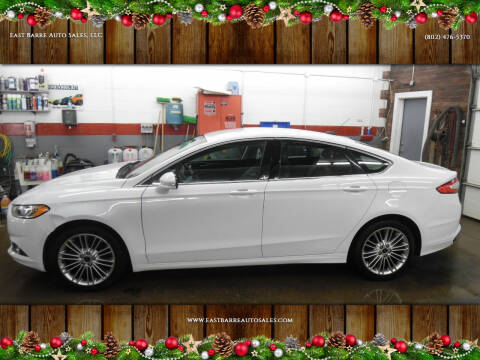 2016 Ford Fusion for sale at East Barre Auto Sales, LLC in East Barre VT