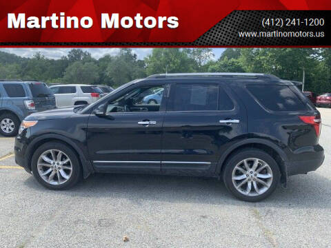 2012 Ford Explorer for sale at Martino Motors in Pittsburgh PA
